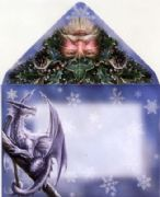 Briar Frost Faerie Magical Yule/Christmas Card